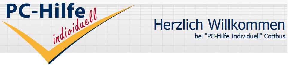 PC-Hilfe individuell - Hilfe in allen IT- Angelegenheiten